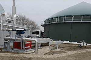 Biogas dryer / dehumidifier